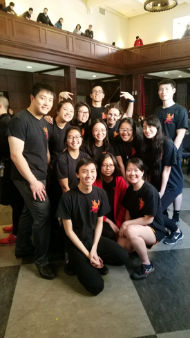 East Coast Intercollegiate Lion Dance Competition at UPenn 2017