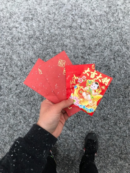 Red envelopes from our Neighborhood performance 2018