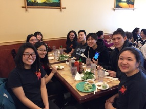Lunch at Mi La Cay after our first New Years performance 2018