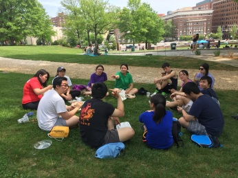 Lunch at Spring Fair 2017