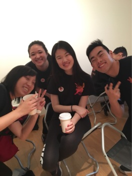 Smithsonian American Art Museum (prepping for our performance!) 2018